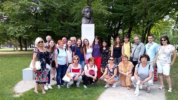 Поездка общества в Загреб в 2017 году