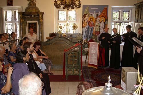 Odesszai férfi kolostor kórusa Pécsen